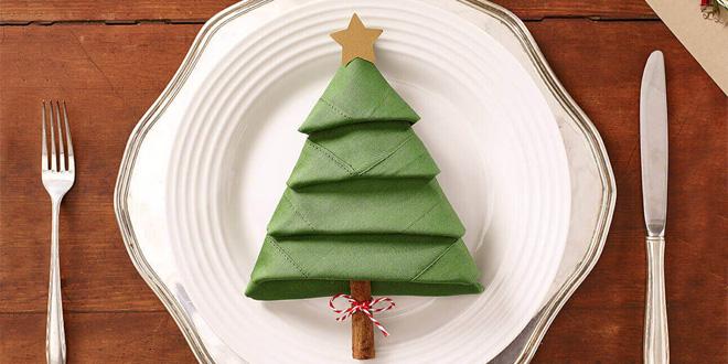 Tovaglioli A Forma Di Stella Di Natale.Come Piegare I Tovaglioli Per Decorare La Tavola Di Natale Don Saro