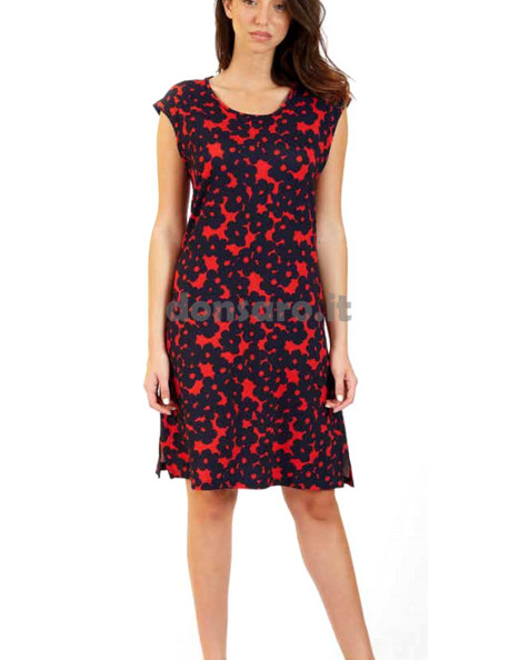 the latest 38b4d 1e6f7 abito donna giro manica viscosa Marta Marzotto 3558