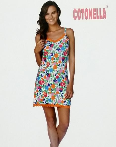 Camicia da notte donna spalla stretta COTONELLA 838  d848a24edc7