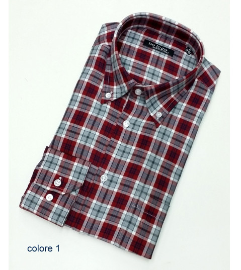 Camicia uomo flanella MASIN | No label