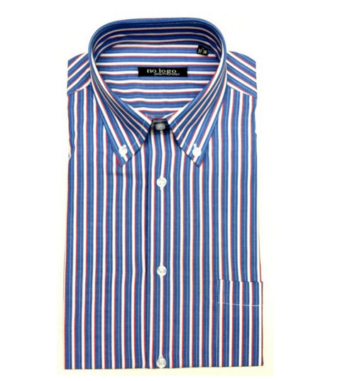Camicia uomo mezza manica botton down cotone CLA 440 | No label
