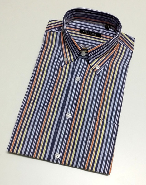 Camicia uomo mezza manica botton down cotone CON 240 | No label