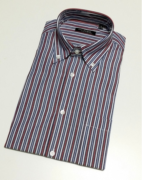Camicia uomo mezza manica botton down cotone FAN 145