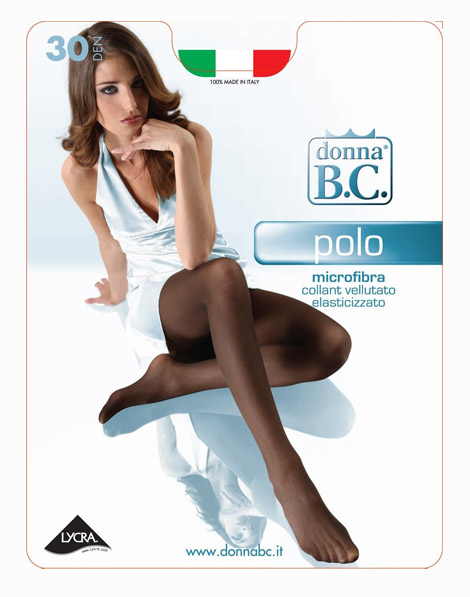 Collant Donna Microfibra Polo 30 B.C.