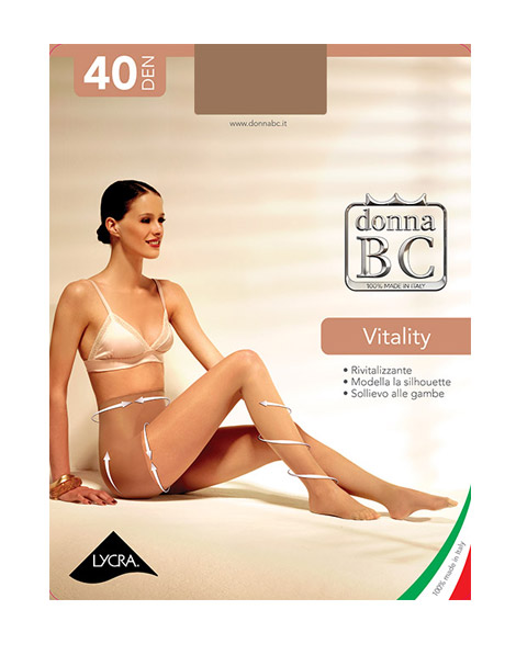 Collant Donna Vitality 40 B.C. | B.C. Collant