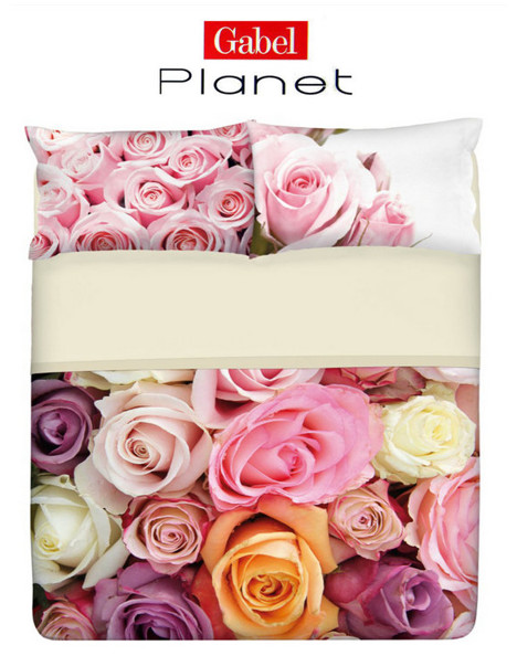 Completo lenzuola copriletto Gabel Planet Flower Rose Garden