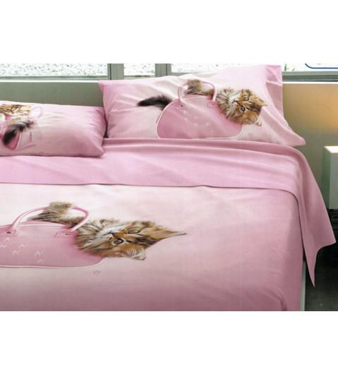 Completo lenzuola copriletto matrimoniale bassetti catty - Completo copriletto matrimoniale ...