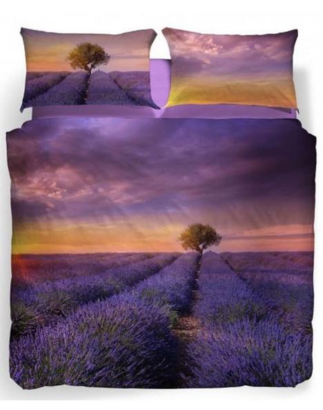Completo lenzuola copriletto matrimoniale caleffi lavander sunset don saro - Completo copriletto matrimoniale ...