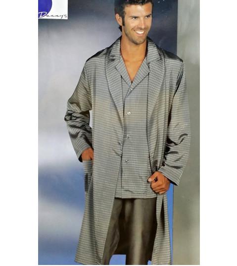 il migliore stile distintivo guarda bene le scarpe in vendita Coordinato uomo estivo vestaglia e pigiama da camera 1468
