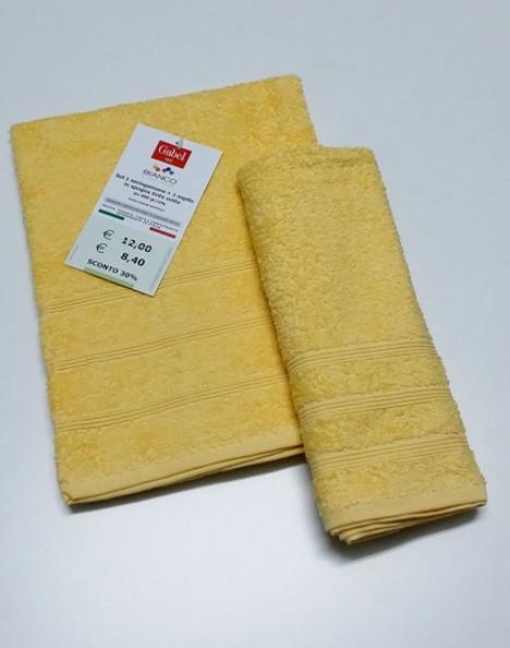 Coppia asciugamani spugna gabel toujuors fiera del bianco for Fiera del bianco
