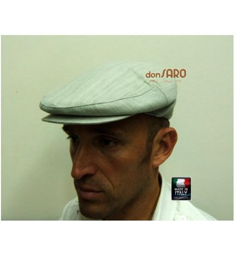 Coppola Siciliana Estiva Melange + OMAGGIO calza uomo filo di scozia d80ca4d19dda