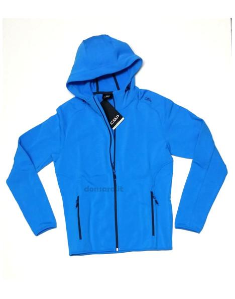 ba212e3ba5 Felpa uomo con Cappuccio pile artic fleece CMP 3E11417N