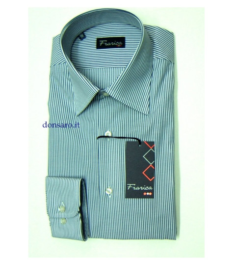 FRARICA Camicia Uomo No-Stiro 657F Botton Down