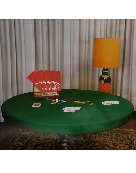 Panno verde per tavolo da gioco don saro - Tavoli da gioco carte pieghevoli ...