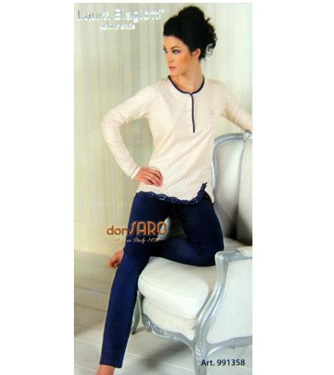 codice promozionale 7a075 dc0cd Pigiama donna cotone primavera estate Laura Biagiotti 991358