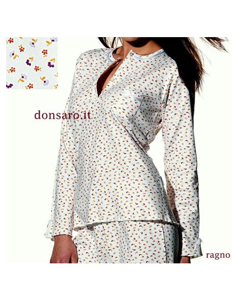 design di qualità a84be 7a7f0 Pigiama Donna RAGNO Caldocotone Autunno Inverno N77331
