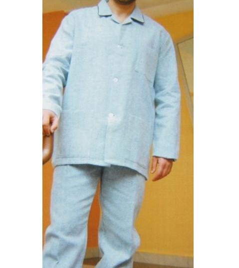 selezione migliore c261d 23ca7 pigiama uomo classico flanella calibrato 0215