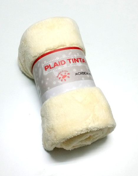 Plaid coral tinta unita SOFFICINO
