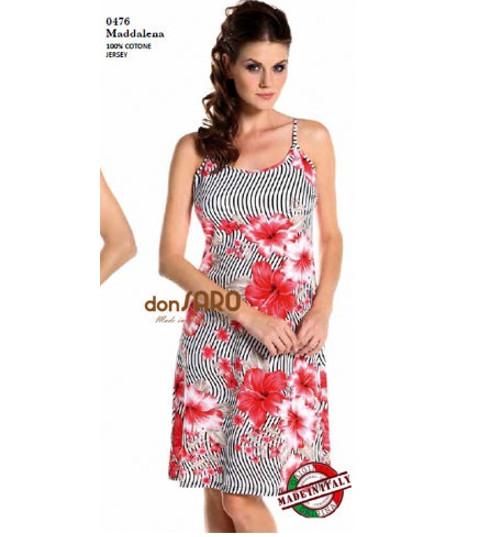 Vestitino Donna mezza manica viscosa Marta Marzotto 0555