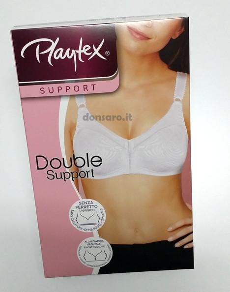 nuovo prodotto 4c377 57a78 Reggiseno Playtex aperto davanti Double Support P06UA