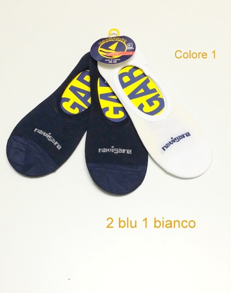 Salvapiede unisex 3 paia NAVIGARE D308 | Navigare