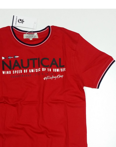 T-shirt uomo manica corta stampa Nautical, Gymnasium 310188