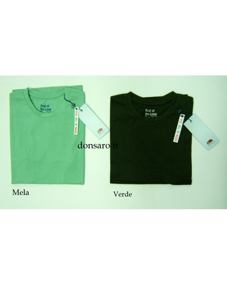 T-shirt Uomo Mezza Manica Fruit of the Loom T109