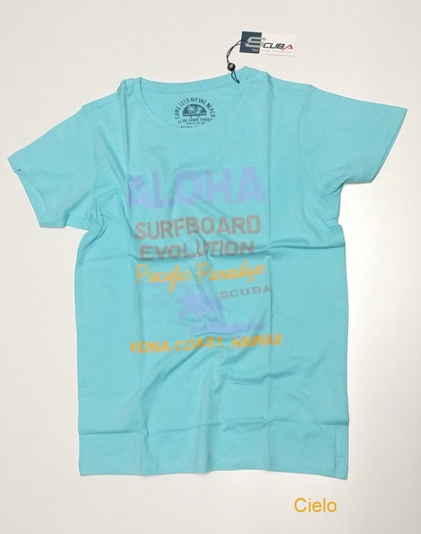 T-shirt uomo mezza manica SCUBA 526020 | No label