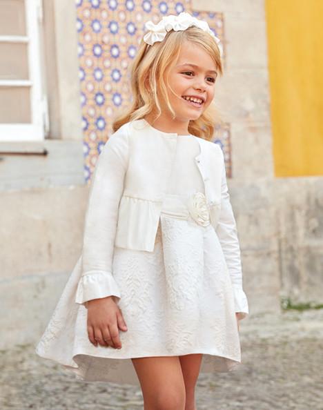 innovative design 9650a 9f675 Vestito bambina cerimonia fiore, Mayoral 3913